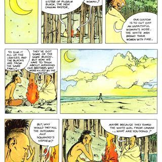 Indian Summer by Milo Manara