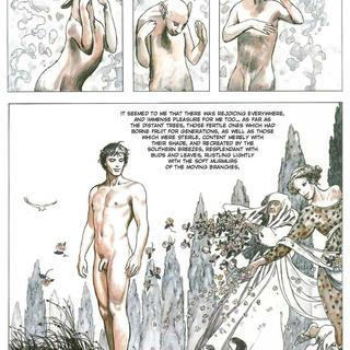 The Golden Ass by Milo Manara