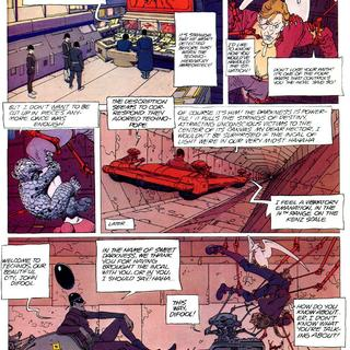 The Black Incal by Moebius