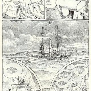 Horny Goof by Moebius