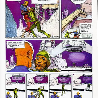 The Long Tomorrow by Moebius