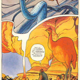 Ballade by Moebius