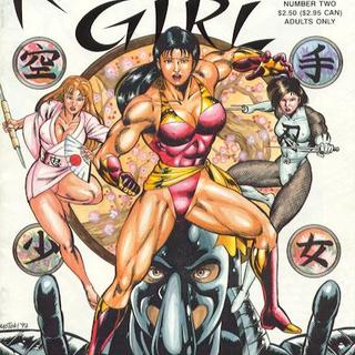 Karate Girl 2 by Motoki