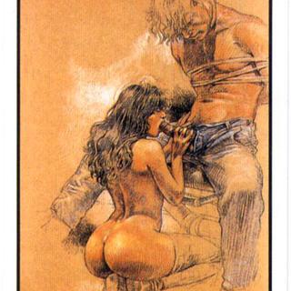 Druuna Tarot Cards by Paolo Eleuteri Serpieri
