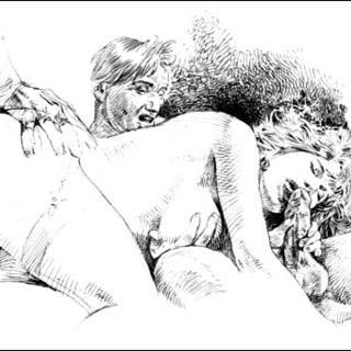 Druuna unsorted by Paolo Eleuteri Serpieri