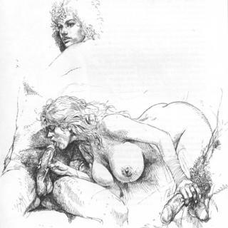 Druuna Black and White 3 by Paolo Eleuteri Serpieri
