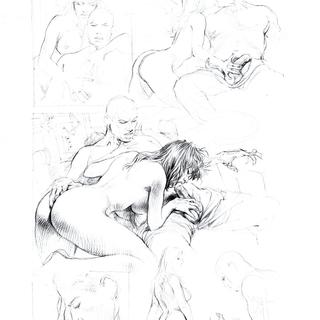 Druuna X 1 by Paolo Eleuteri Serpieri