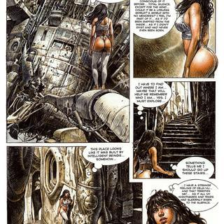 Druuna The Forgotten Planet by Paolo Eleuteri Serpieri