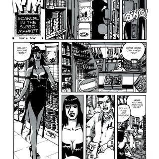 Nina Scandal in the Supermarket by Paya