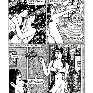 Goddess of Secret World by Rafael Raven