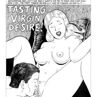 Tasting Virgin Desire by Rafael Raven