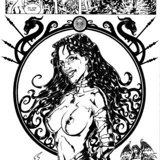 Elizabeth Bathory 7 by Raulo
