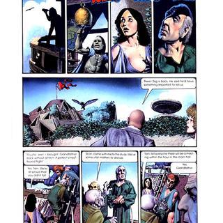 Den 2 Muvovum by Richard Corben
