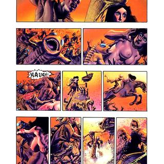 Den 2 Muvovum by Richard Corben