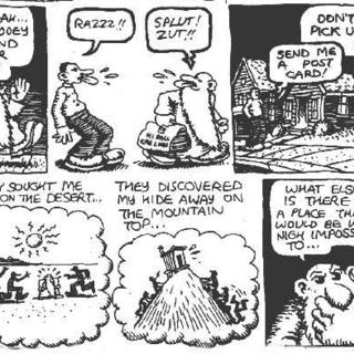 Mr Natural Takes A Vacation by Robert Crumb