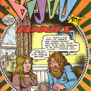 Bijou Funnies 6 by Robert Crumb