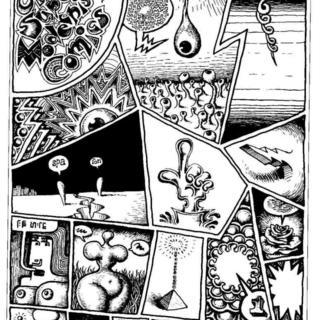 Ultra Super Modernistic Comics by Robert Crumb