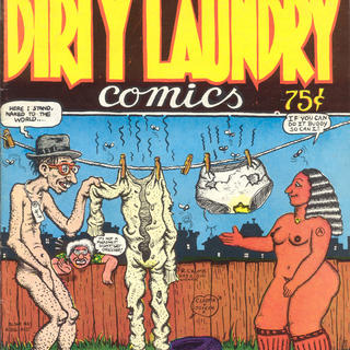 Dirty Laundry 1 by Robert Crumb