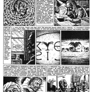 Philip K Dick by Robert Crumb