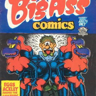 Big Ass Comics 1 by Robert Crumb