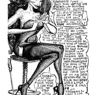 The Trapdoor Spiderwoman by Roger Wormburper