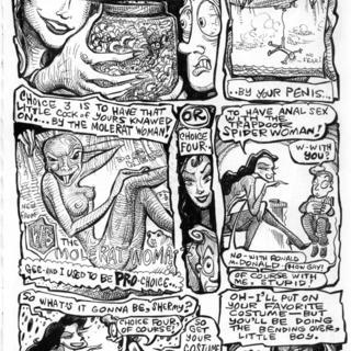 The Trapdoor Spiderwoman in Rear Factor by Roger Wormburper