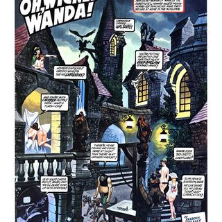 Oh Wicked Wanda 9 by Ron Embleton, Frederic Mullally