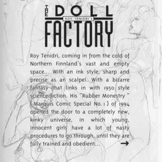 Doll Factory by Roy Tenidri