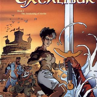 The Song of Excalibur 1 by Scotch Arleston, Eric Huebsch
