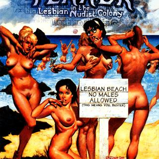 Terror in the Lesbian Nudist Colony by Scott Hampton
