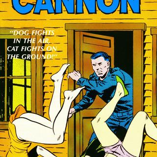 Cannon 2 Dog Fights in the Air Cat Fights on the Ground by Wallace Wood