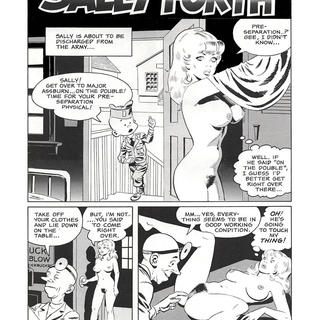 Sally Forth by Wallace Wood