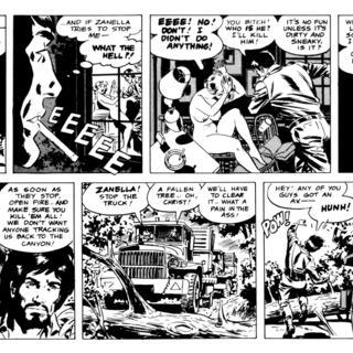 Cannon 5 Stateside Sleaze by Wallace Wood