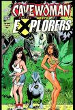 Cavewoman Meets Explorers by Bud Root