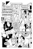 The League of Amazons Silver-Age Cross-Over by John Short, Gaby Noble
